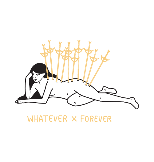 whateverxforever_Drawing_tarot_card_Design